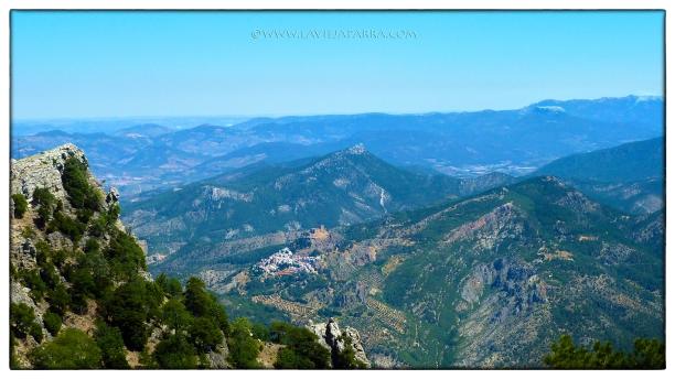 Segura de la Sierra desde El Yelmo