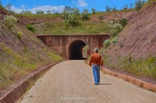 Túnel en el Término Municipal de La Puerta de Segura