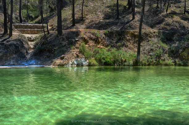 Río Molinos. Área Recreativa Peña del Olivar, Siles.