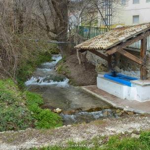 Lavadero en aldea del Valle del Zumeta